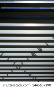 Shadow pattern of building exterior