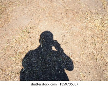 shadow of the photograper