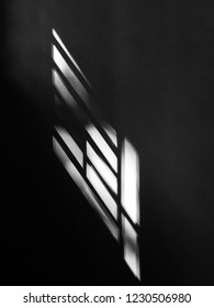 Shadow of a window glass or the Sunlight entering through the window glass. Taken from Kannur,Kerala/India November-14th,2018
