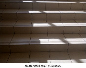 Shadows objects stairs