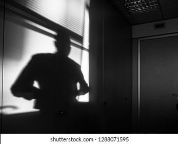 Shadows in the office