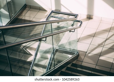 shadows and stairs