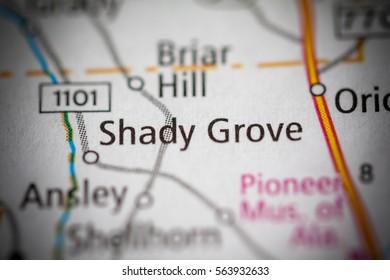 Shady Grove. Alabama. USA