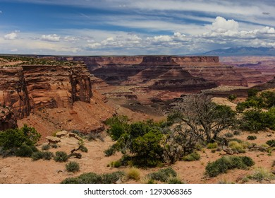 Shafer Canyon Viewpoint in Canyonlands National Park in Utah, United States