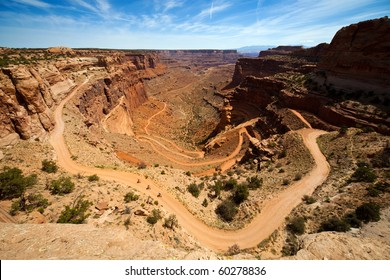 Shafer Trail Switchbacks