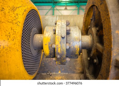 Shaft and coupling motor.