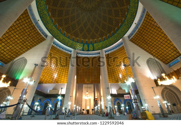 Shah Alam Malaysia November 14th 2018 Buildings Landmarks Stock Image 1229592046