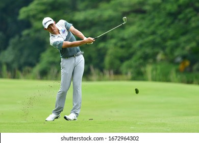 SHAH ALAM, MARCH 5 : Danny Masrin of Indonesia, pictured during round 1 of the Bandar Malaysia Open 2020 at Kota Permai Golf & Country Club, Shah Alam, Selangor, Malaysia, on March 5, 2020.