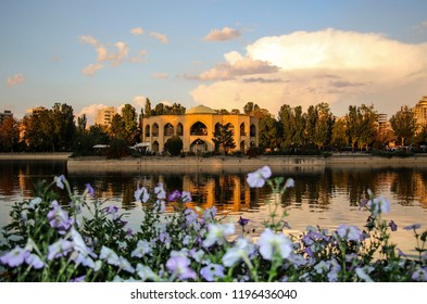 Shah Goli - the summer residence of the Qajar dynasty in El Golu park in Tabriz, East Azerbaijan province, Iran