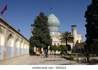 Shah-e Cheragh Mausoleum in Shiraz, Iran