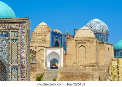 Shah-i-Zinda architectural ensemble, Samarkand, Uzbekistan