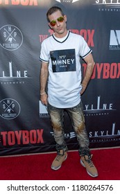 """Shakai Freeman attends  Skyline Entertainment's  """"The ToyBox"""" Los Angeles  Premiere at Laemmle's NoHo 7, North Hollywood, California on September 14th, 2018"""