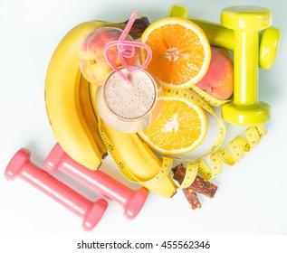 shake with fresh fruit