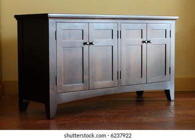 A shaker buffet showing fine craftsmanship.