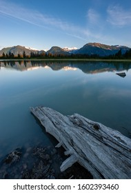 Shakes Slough at lower Stikine river in Alaska, USA