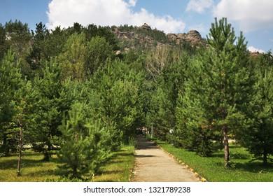 Shakhtar – Miner holiday house Karkaralinsk. Karaganda Oblast. Kazakhstan