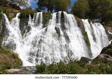 Shaki waterfall Sisian