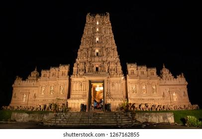Shakti Indian Hindu Temple in Selangor, Malaysia