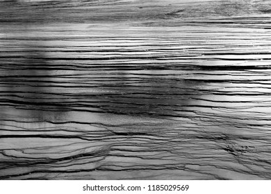 Shale shelf at Yellowstone National Park is another geological feature of the park. I chose to take a close-up view to show the pattern and then converted to black & white to highlight the texture.