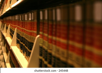 Shallow DOF Book Racks
