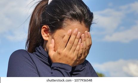 Shameful Youthful Teen Girl