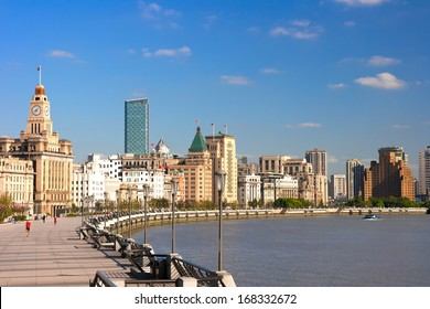 Shanghai Bund historical buildings,China