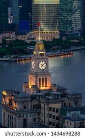 Shanghai Bund old building big clock