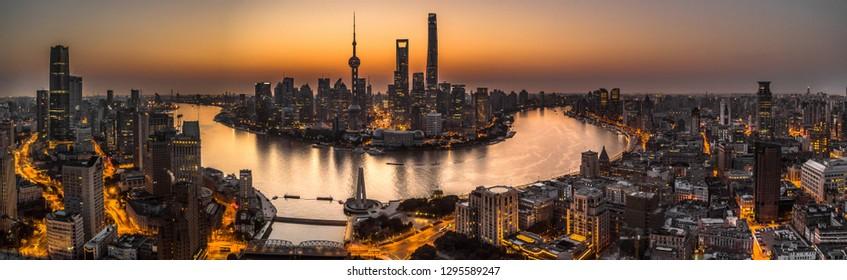 Shanghai Bund Sunrise