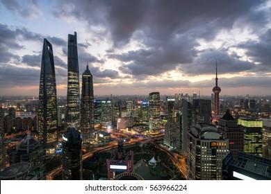 Shanghai Central business district