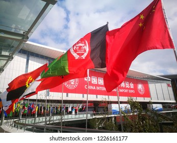 Shanghai, China. 4th Nov., 2018. Shanghai National Expo and Convention Center ready to welcome the first China International Import Expo.