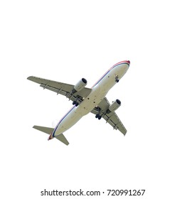 SHANGHAI, CHINA, April 2? 2015?China Eastern Airlines Airbus A320 ?B-6802?flying in the sky.