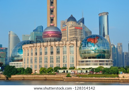 Shanghai China June 2 Oriental Pearl Stock Photo Edit Now