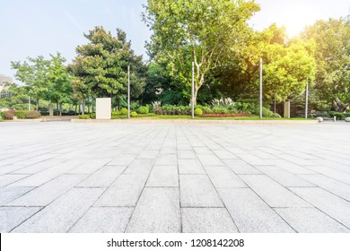 Shanghai city landmark building Plaza platform.