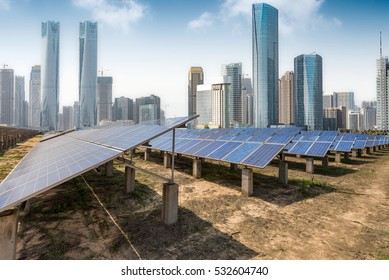 Shanghai ,Ecological energy renewable solar panel plant