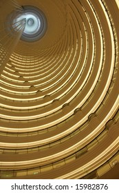 Shanghai - Jin Mao Tower(Interior), Fifth tallest in the world by roof height