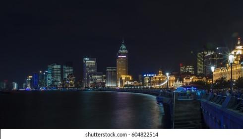 Shanghai Lujiazui night view