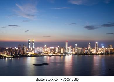 Shanghai night in China