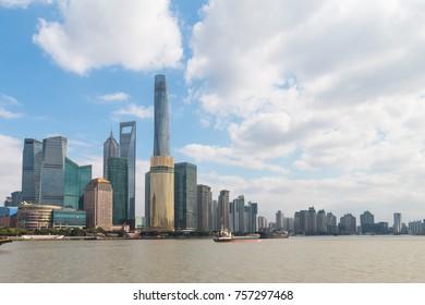 Shanghai Pudong landscape