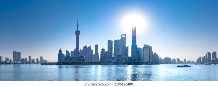 Shanghai Pudong panorama