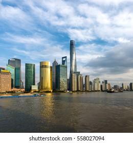 Shanghai Skyline The Bund