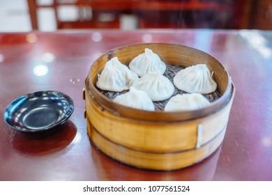 shanghai soup dumpling or xiaolongbao