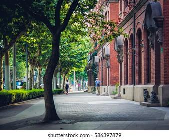 Shanghai Street / European style