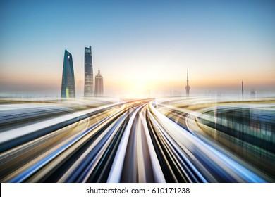 Shanghai urban landscape data