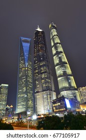 Shanghai world financial center skyscrapers