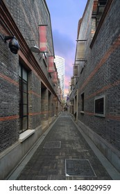 Shanghai Xintiandi alley