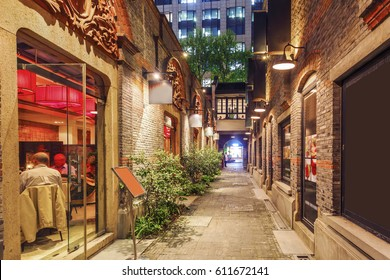 Shanghai Xintiandi and Shikumen building