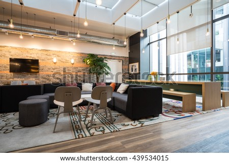 Exceptionnel Shanghai,China   JUN.18,2016: Interior Of SOHO Office Lobby U0026
