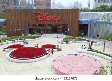 SHANGHAI-JULY 2015, 10 Disney kids store in Lujiazui
