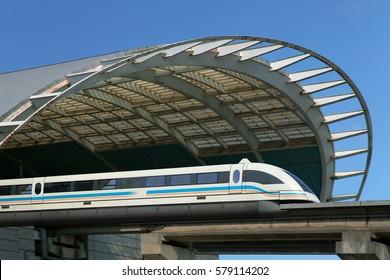 Shanghai,Maglev train
