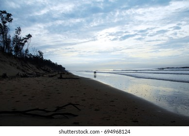 Shankarpur leisure hangout beach in west bengal India